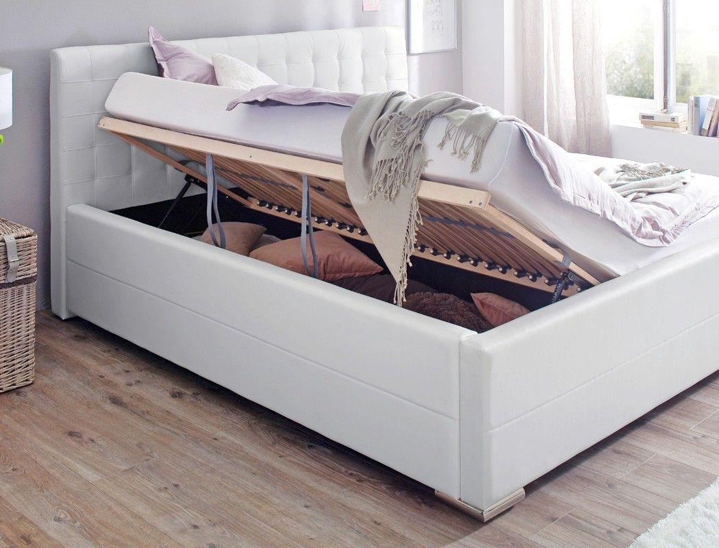 Billig Weisses Bett Mit Bettkasten 180x200 Bett Mit Bettkasten