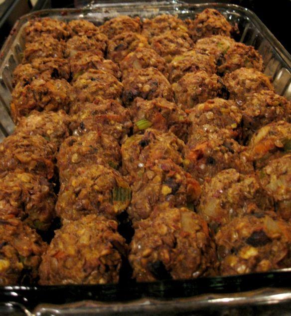 The Meatball Shop's Vegetarian Meatball Recipe