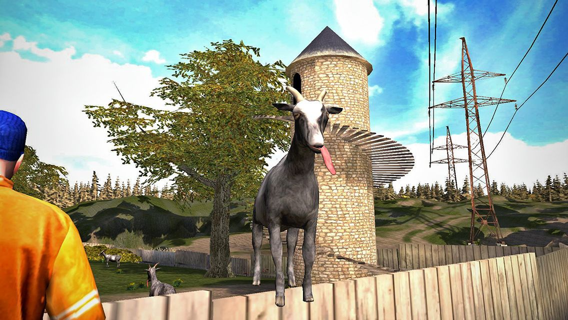Goat Simulator available now for iOS eRapid News Goat