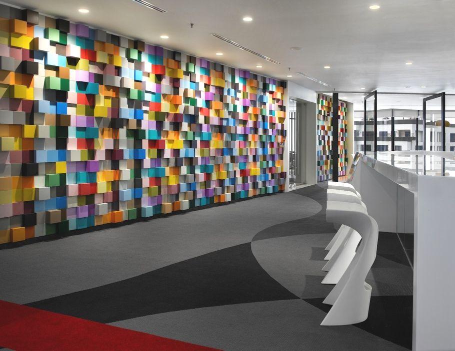 Funky Office Design For Sherwin Williams, Kuala Lumpur