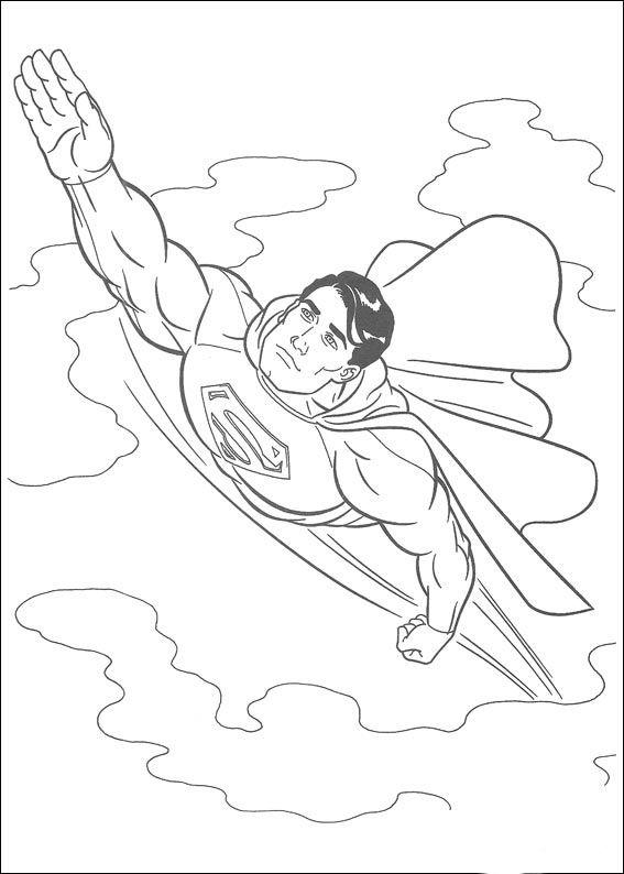 Dibujos para Colorear Superman 11 | ColurMe | Pinterest | Dibujos ...