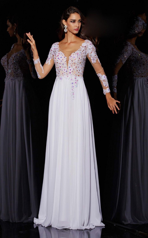 Click to buy ucuc sale vestido quality full length long chiffon a