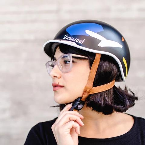 X Thousand Bike Helmet In Color Blocks Bike Helmet Helmet Bike