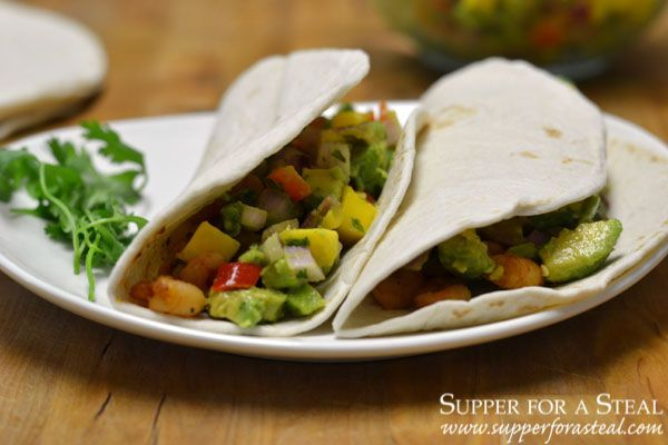 Jerk Shrimp Tacos with Mango Salsa - Supper for a Steal #WeekdaySupper #jerkshrimp Jerk Shrimp Tacos with Mango Salsa - Supper for a Steal #WeekdaySupper #jerkshrimp