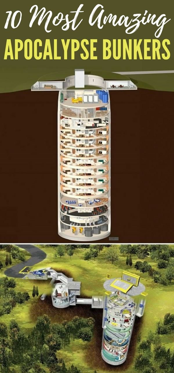 10 Most Amazing Apocalypse Bunkers Luxury Bunkers Bunker