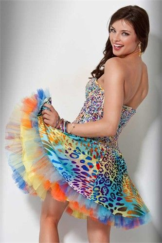 10  images about Dresses-Zebra on Pinterest  Prom dresses with ...