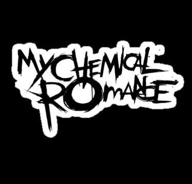 My Chemical Romance Logo My Chemical Romance Logo My Chemical Romance Band Stickers