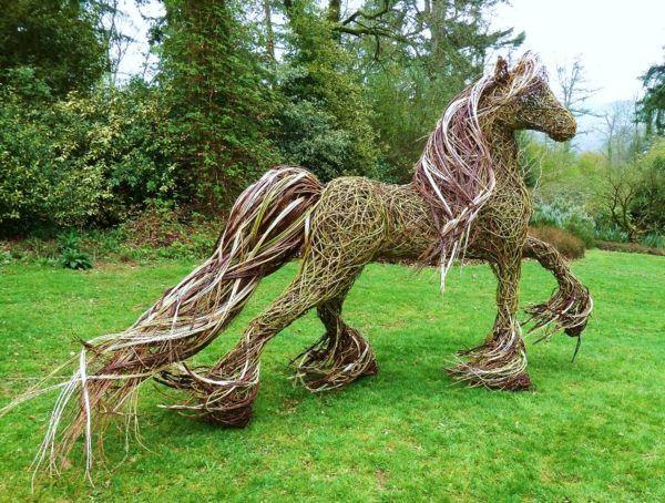Idées de décoration de jardin extérieur avec des sculptures | Garden ...