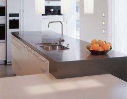 images about flick on pinterest kitchen designs work tops and glasses: corian kitchen top