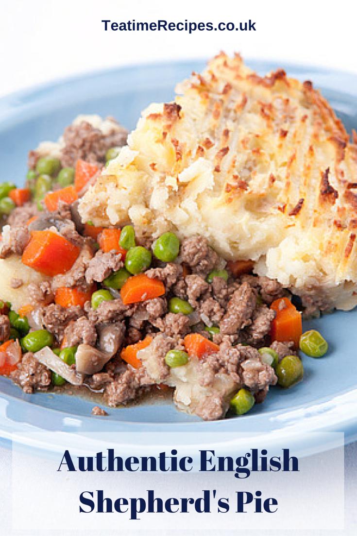 Authentic English Shepherd S Pie Recipe Roast Beef Dinner British Food Shepherds Pie