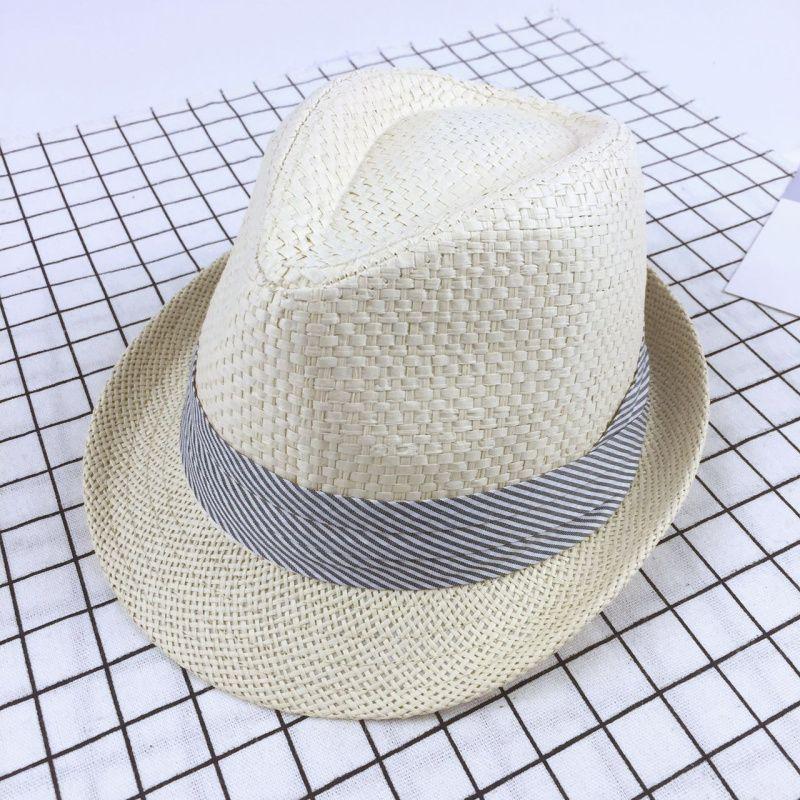 Kid Boys Girls Outdoor Cap Trilby Fedora Cool Jazz Hat Child Summer Sun Hat USA