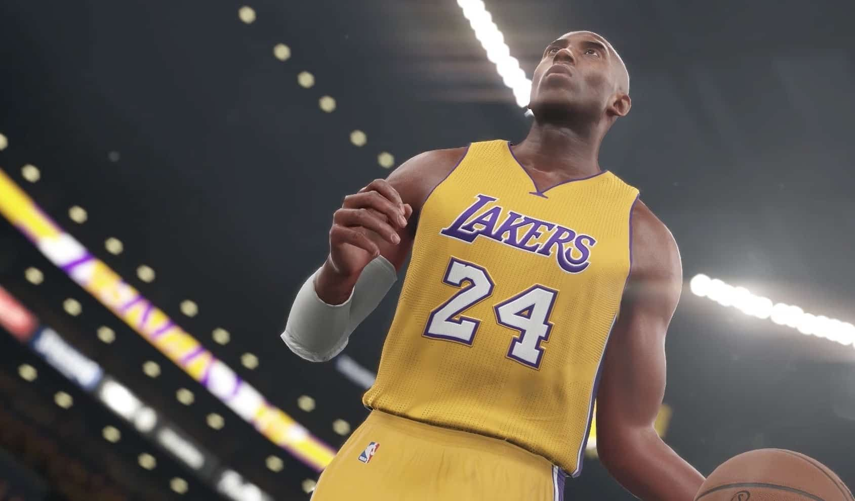 Nba 2k20 Honors Kobe Bryant With Jersey Patch Sports Gamers Online In 2020 Kobe Bryant Kobe Jersey