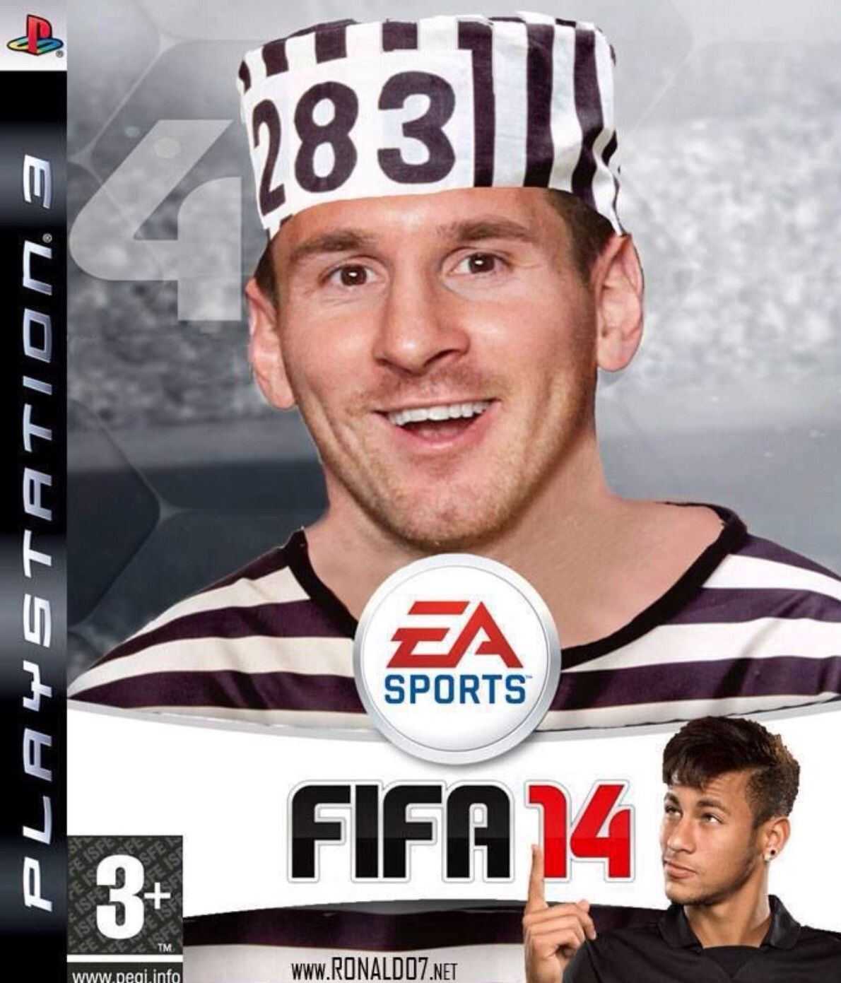 Because of his tax evasion problems, FIFA 14 have had to