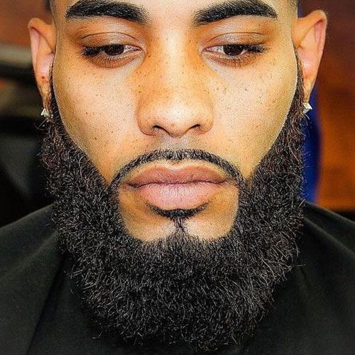 23 Black Men Beards - Top Beard Styles For Black Guys | Full beard ...