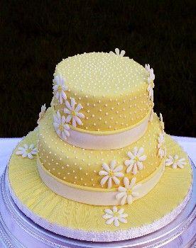 Sunshine Wedding Cake