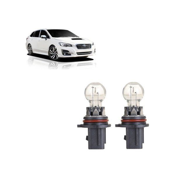 For Subaru Levorg 2014-2020 Gex Halogen P13W 13W DRL Foglight Bulbs X2