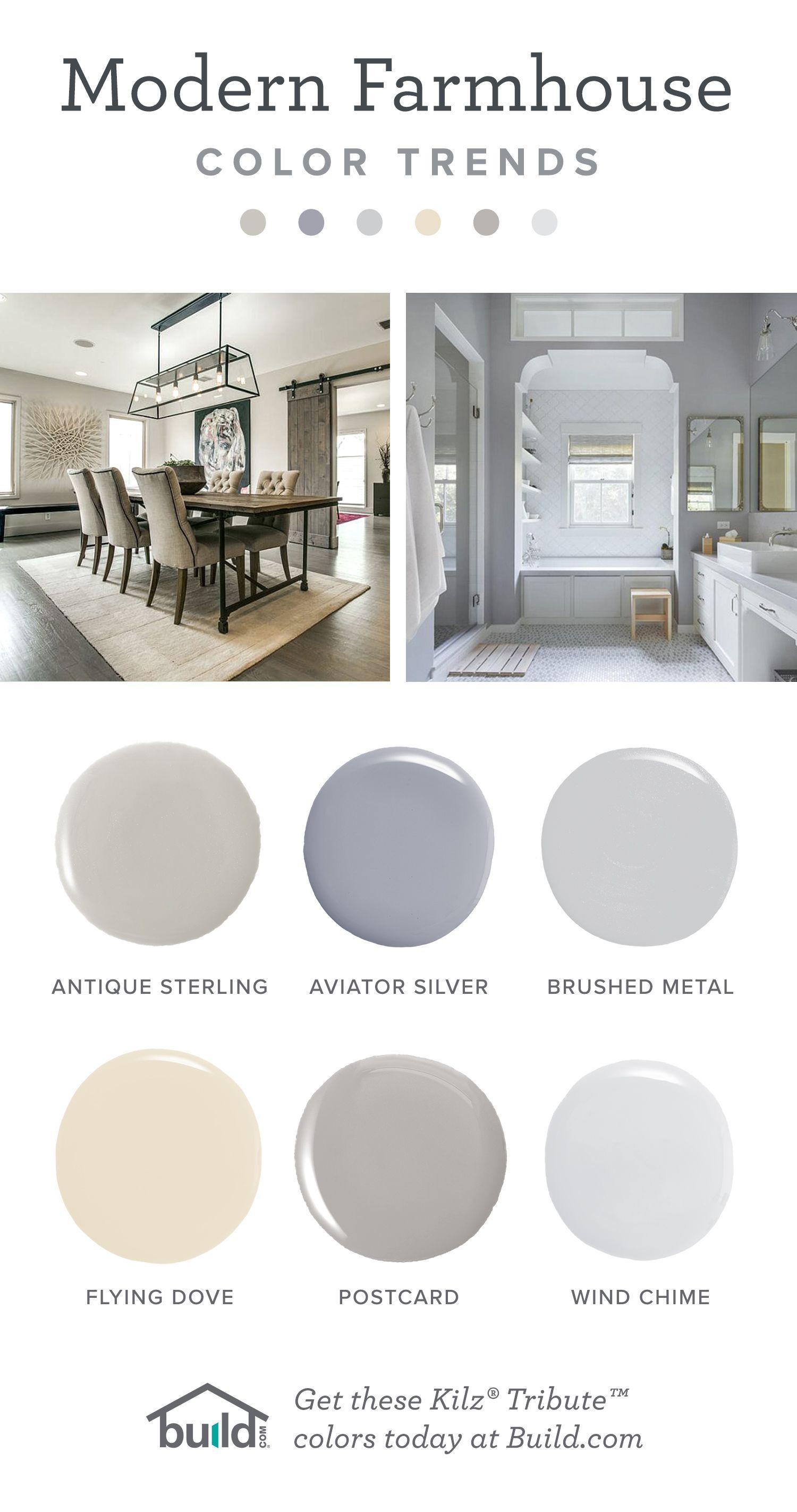 Modern Farmhouse Paint Colors by Kilz  Love Your Home