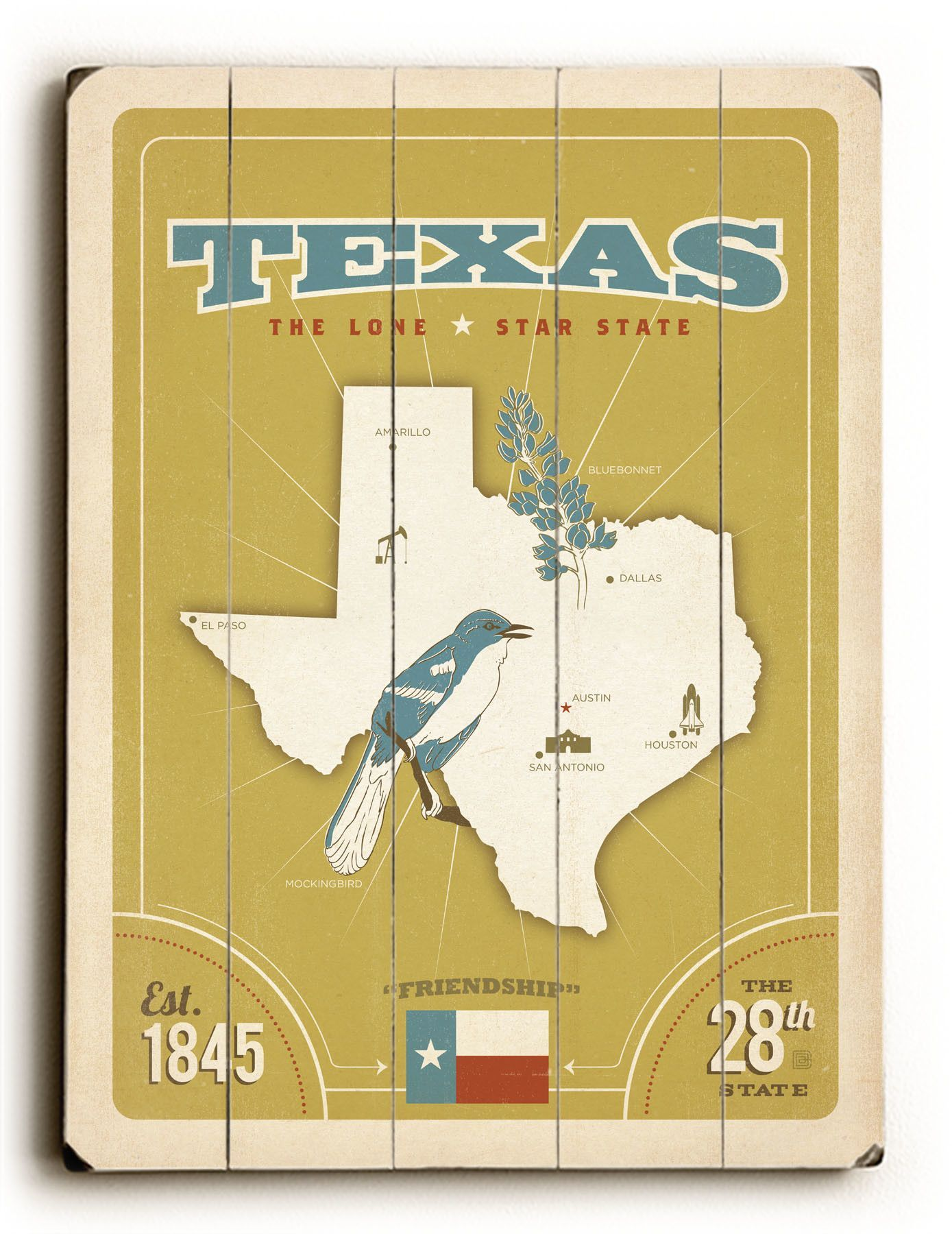 Great Texas Wall Decor Contemporary - The Wall Art Decorations ...
