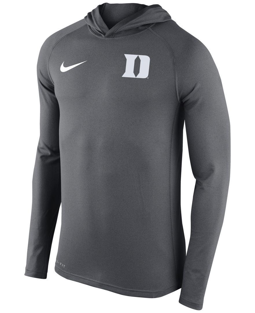 official photos 46315 eaf99 Nike Men s Duke Blue Devils Stadium Dri-fit Touch Hoodie