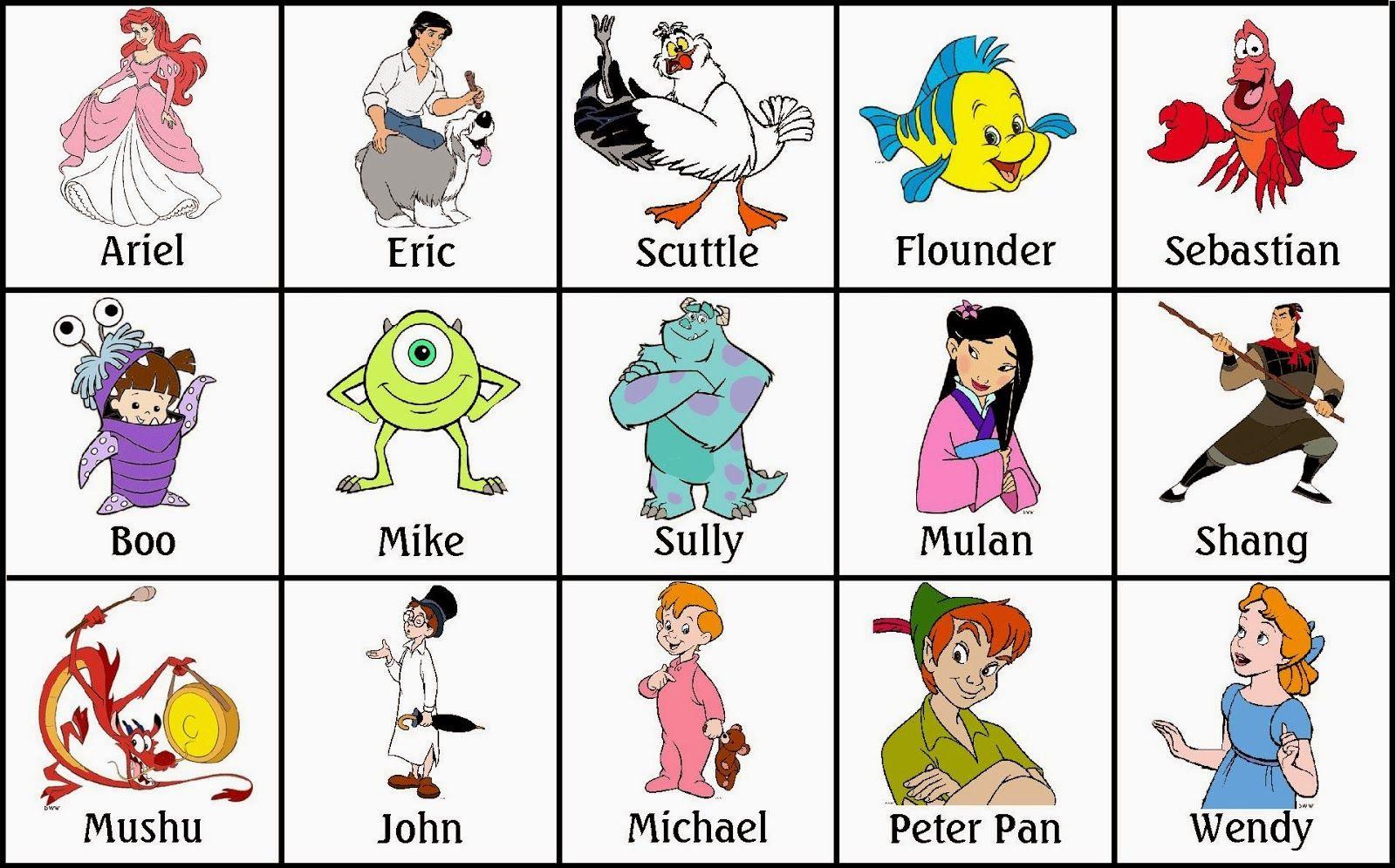 Ideas Y Material Gratis Para Fiestas Y Celebraciones Oh My Fiesta Bingo De Personajes Disney Para Imprimir Gratis Cartones De Bingo Bingo Personajes Disney