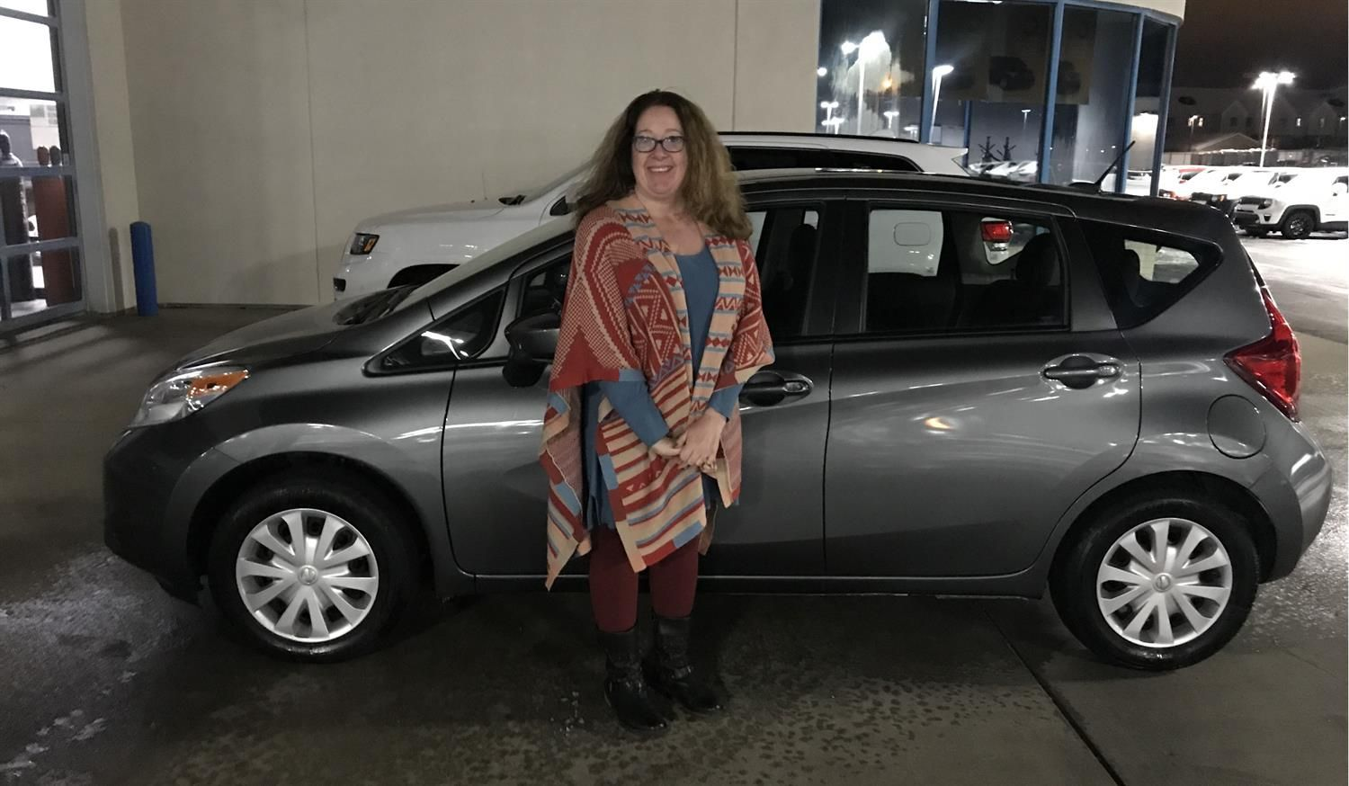 Jalene Are You Ready To Start A New Adventure With Your New 2016 Nissan Versa Note Wishing You Many Miles Of Smiles From All Of Us Here At Landmark Chrysler In 2020