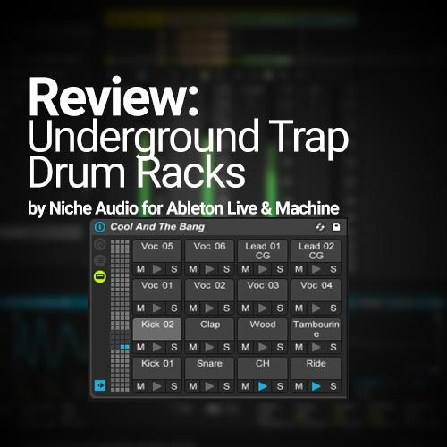 These Ableton Live Drum Racks have extremely high quality drum samples in them and sound incredible! I have been using these drum tracks for a while now. They are from a pack called Underground Trap by Niche Audio. You can get the pack formatted for Maschine and/or Ableton Live. The download comes with pre-made project files (15 …