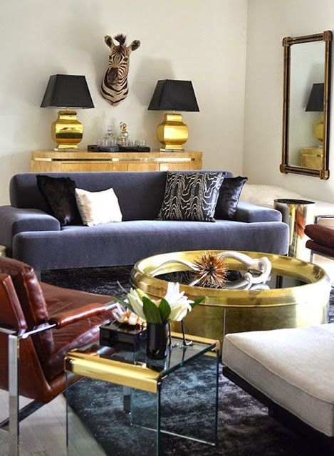 Mixed Metals Pops Of Gold And Silver In Every Room Home Decor Interior Design Interior