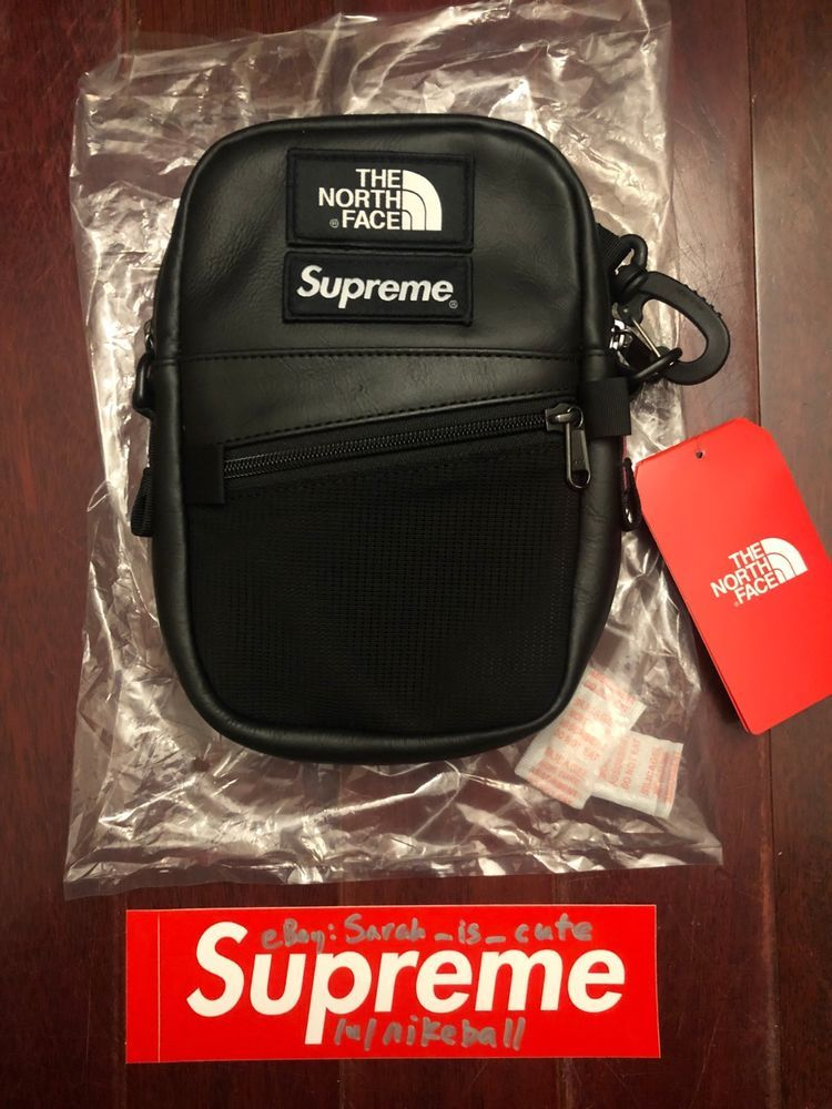 036d41a58 eBay #Sponsored NEW Supreme x The North Face TNF Leather Shoulder ...