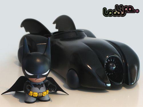 custom batman toy. stuart witter. http://stuartwitter.com/