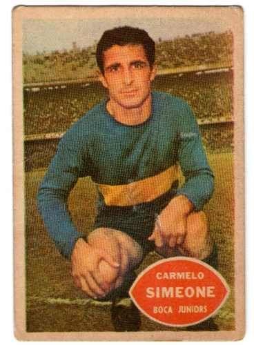 Carmelo Simeone - Boca Jrs #4  1965