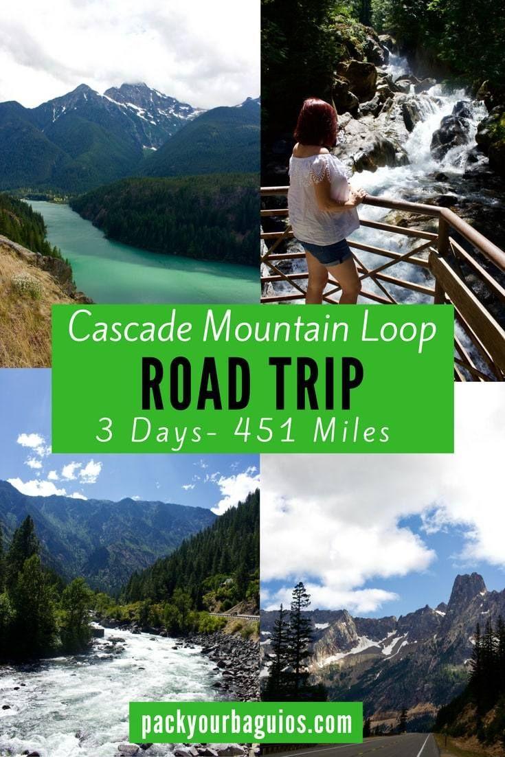 The Cascade Mountain Loop Road Trip | Road trip usa ...