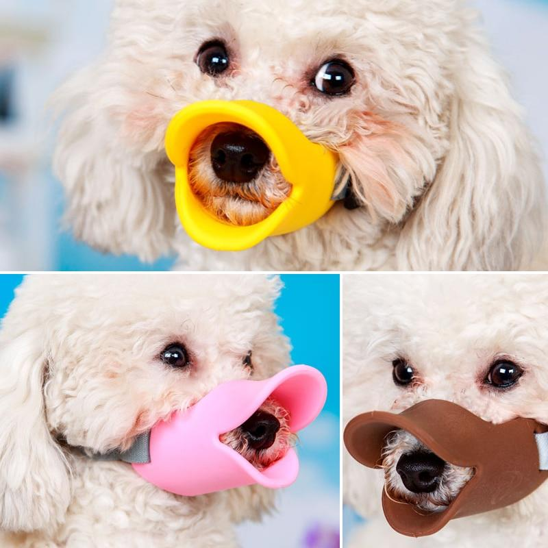 Silicone Duck Mouth Dog Muzzle