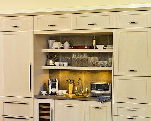 Kitchen Organization Pantry Coffee Stations