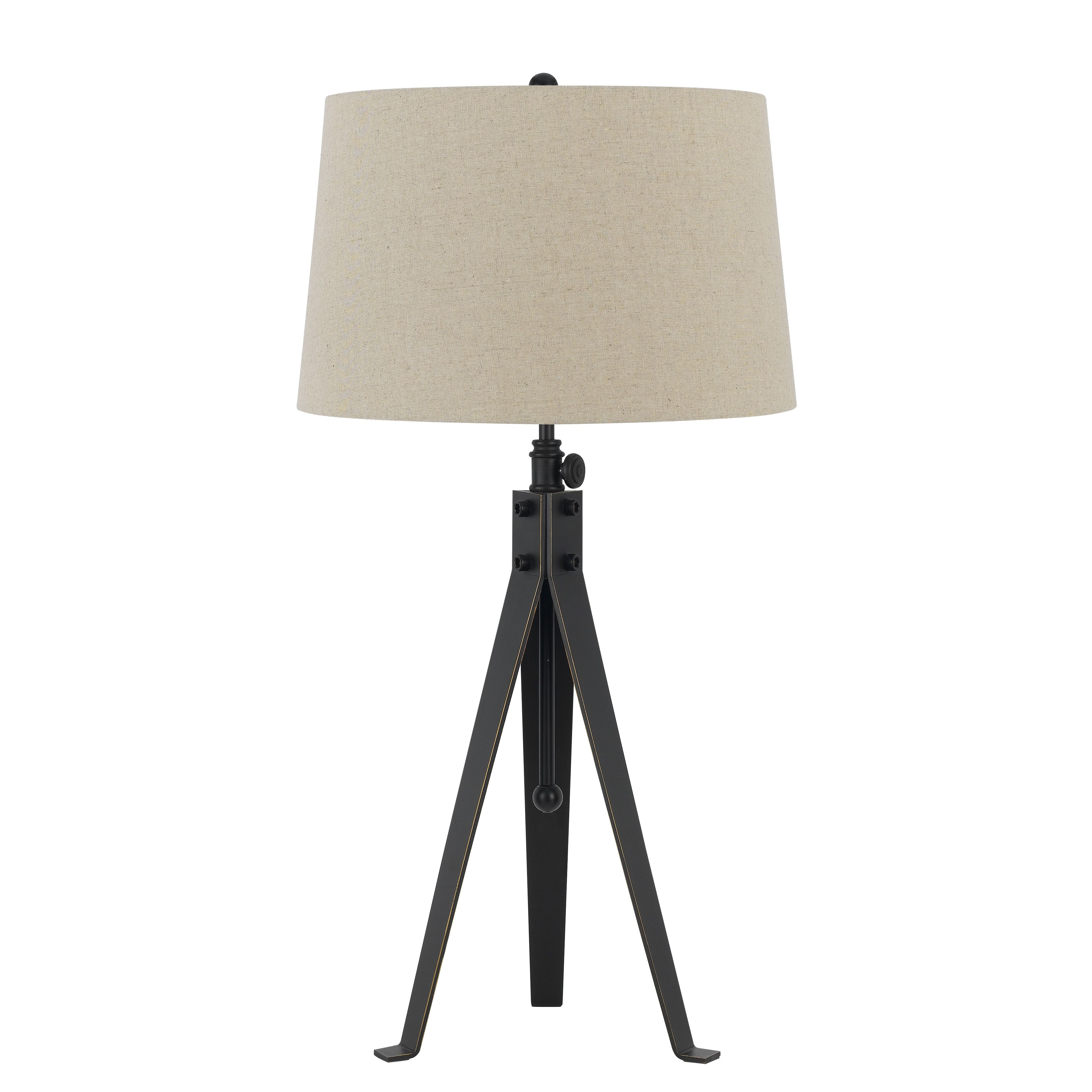 Cal Lighting Tripod 3 Way 325 H Table Lamp With Empire Shade