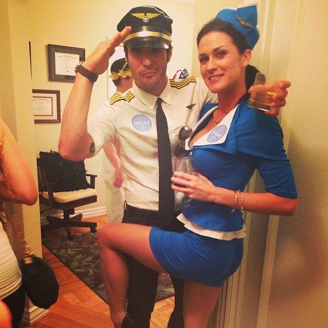 60 Sexy Halloween Couples Costume Ideas Sexy, Flight attendant and
