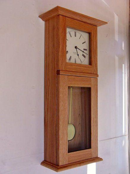 Shaker Style Wall Clock Matt Woodworking Pinterest Clock