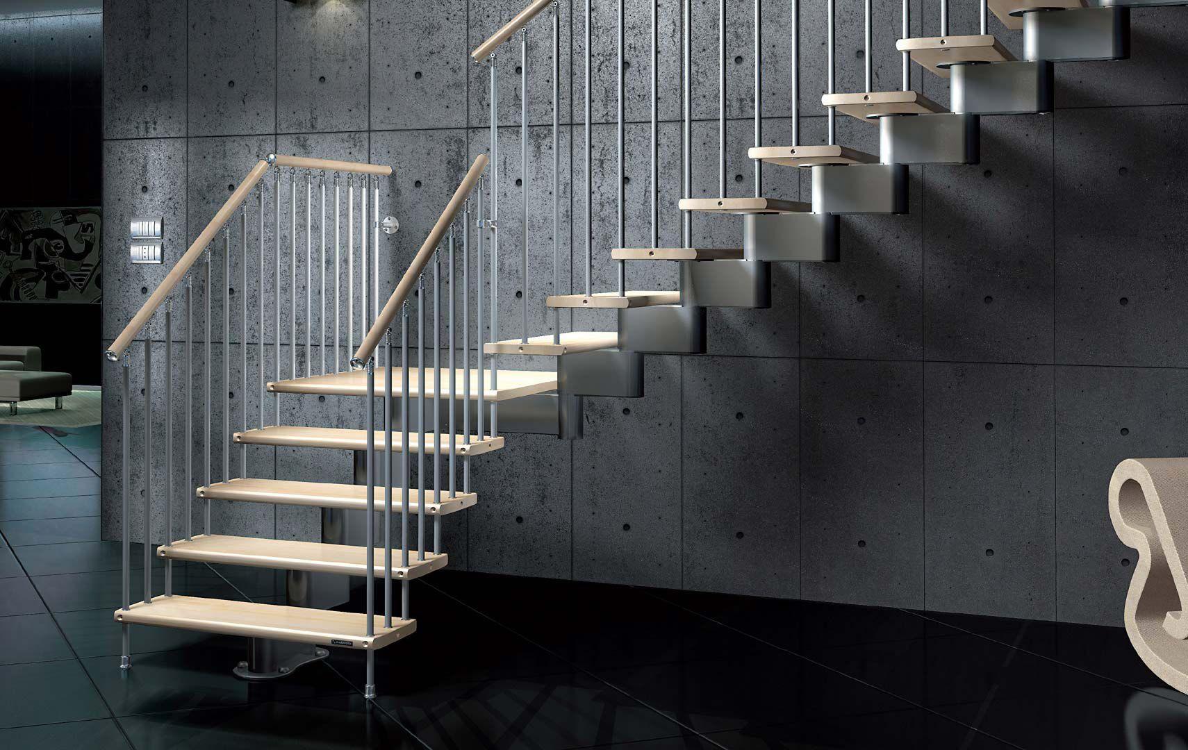 Scale a giorno modulari scale interne scale in legno scale modulari scale modulari per - Prezzi scale per interni ...