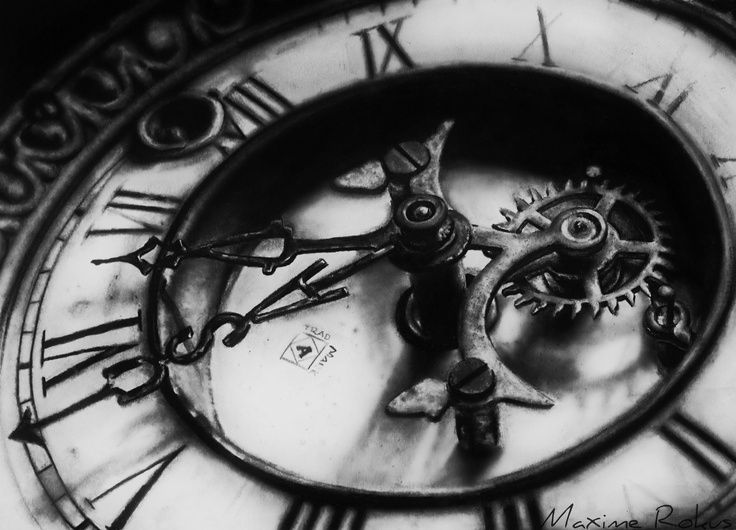 Pin By Nilufer Dincer On Chican Clock Tattoo Clock Drawings Old Clock Tattoo