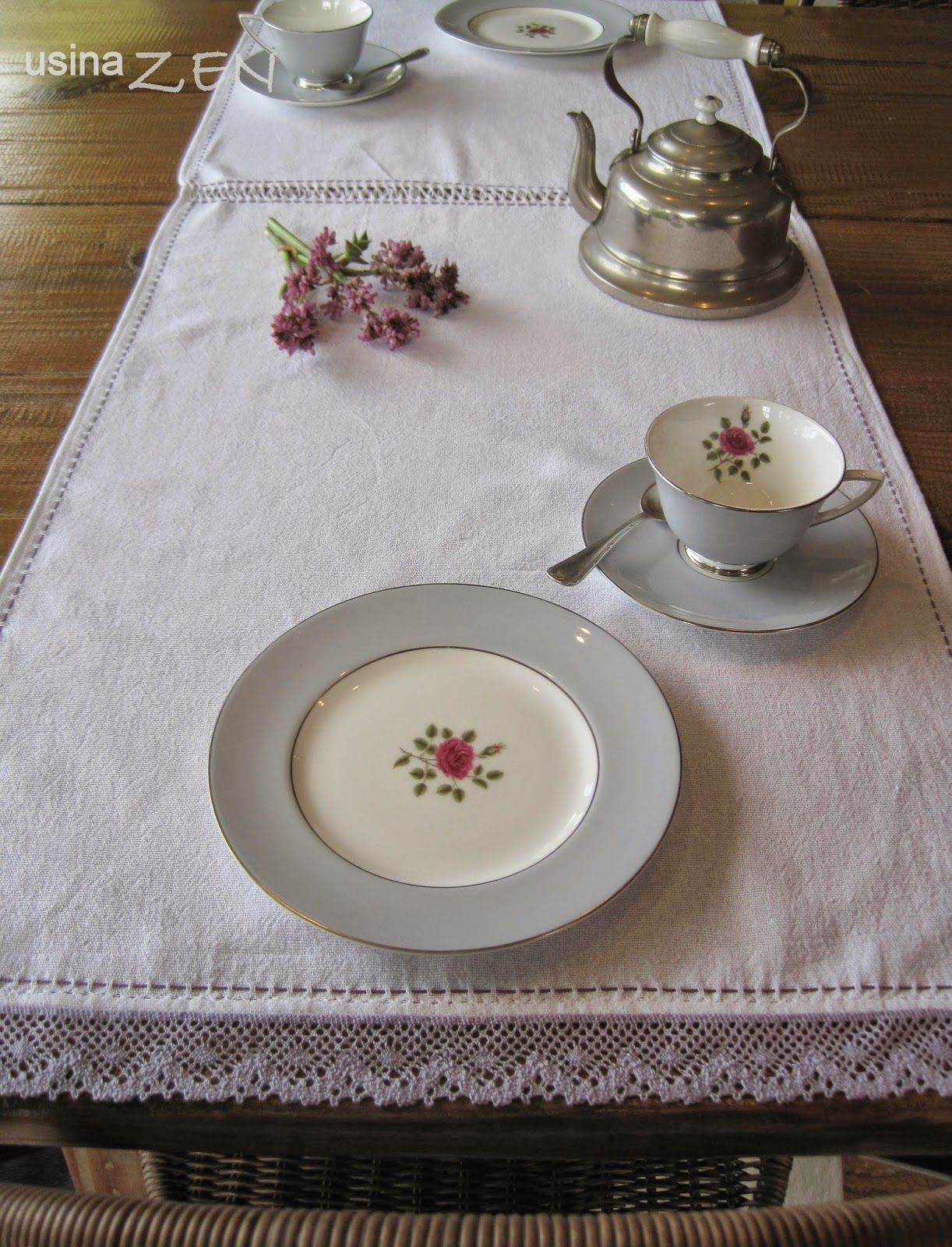 usina ZEN : trilho de mesa | #tablecloth