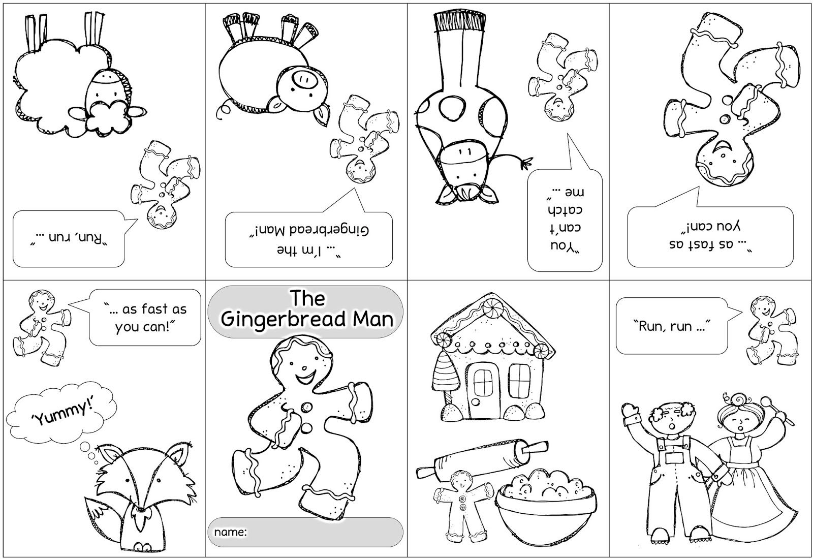 Faltheft The Gingerbread Man