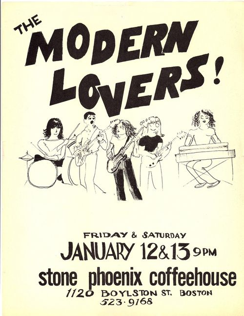 The Modern Lovers The Modern Lovers Music Flyer Music Covers