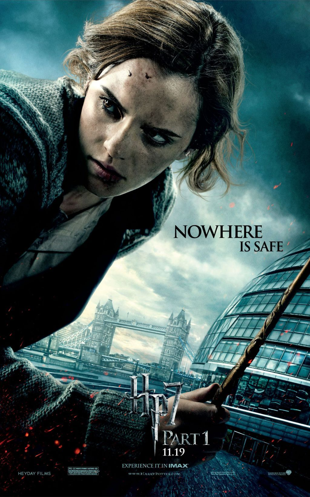 Harry Potter And The Deathly Hallows Part I Movie Posters Emma Watson Harry Potter Deathly Hallows Movie Harry Potter Movie Posters