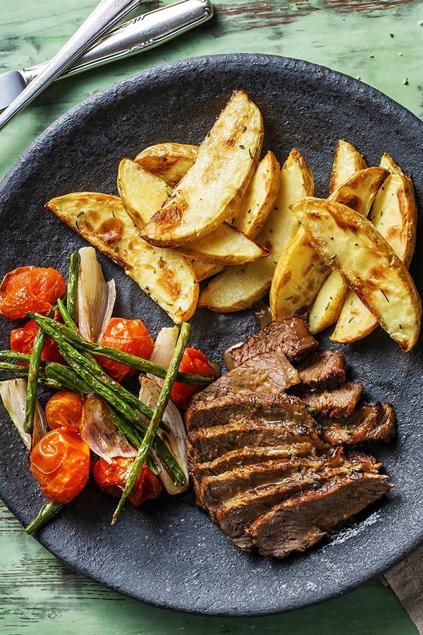 Tuscan Steak and Rosemary Potatoes Recipe | HelloF