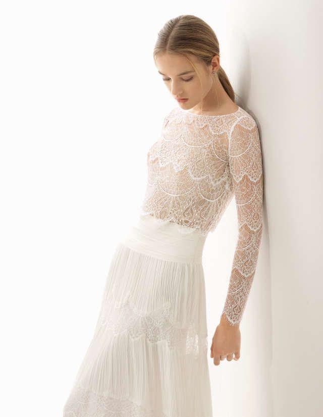 Moderne Brautkleider 2018 von Rosa Clará sind eingetroffen! Freu ...