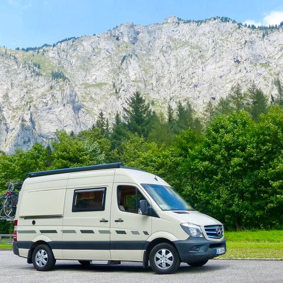 Mercedes Sprinter Benz Lucky Star Campervan 4x4