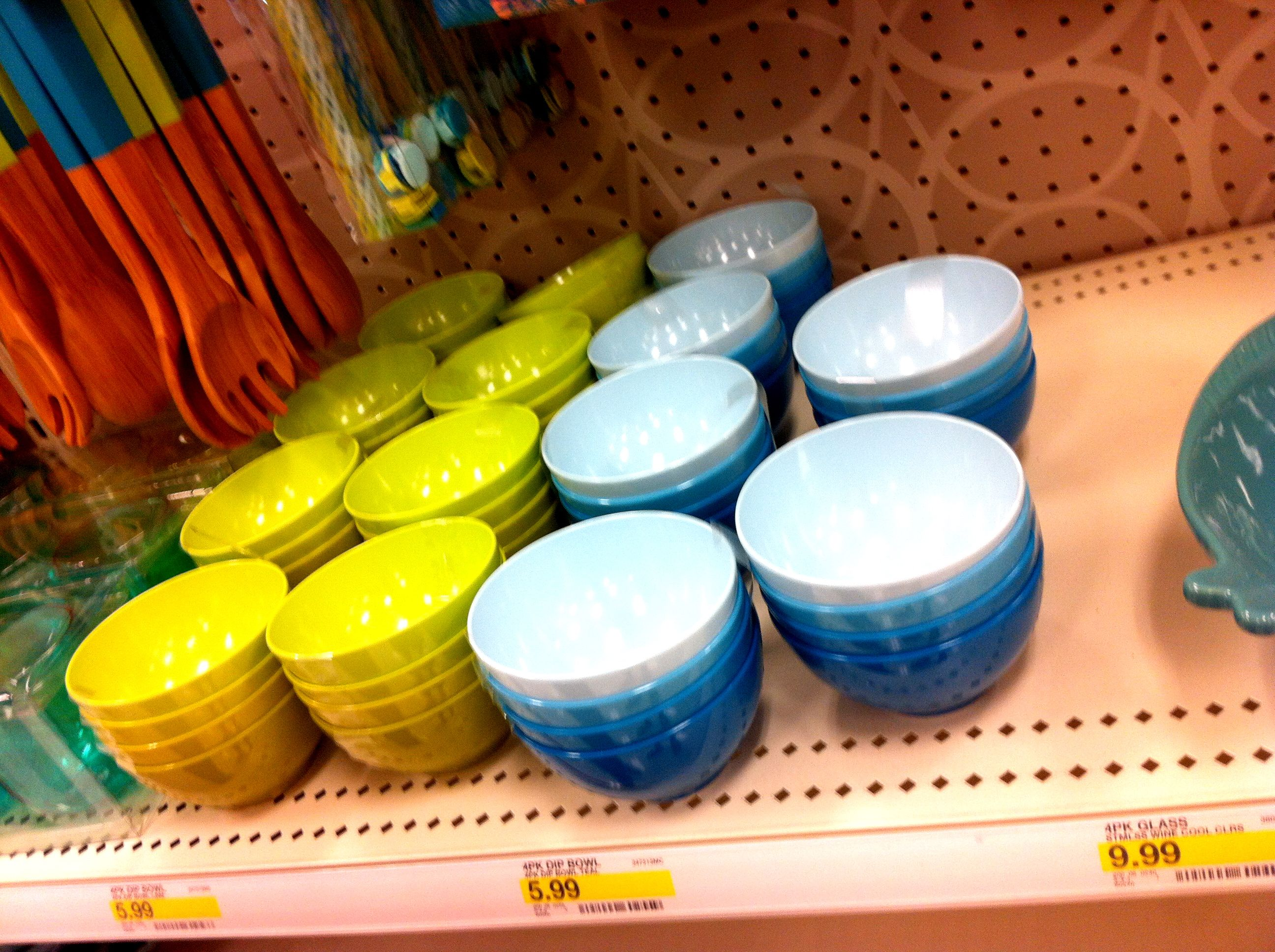 Sweet color gradient bowls
