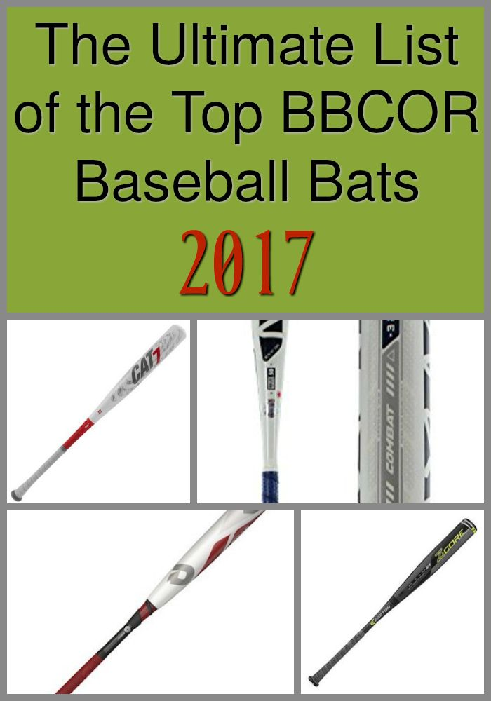 10 Best BBCOR Bats - The List of Winners [2019] | Youth