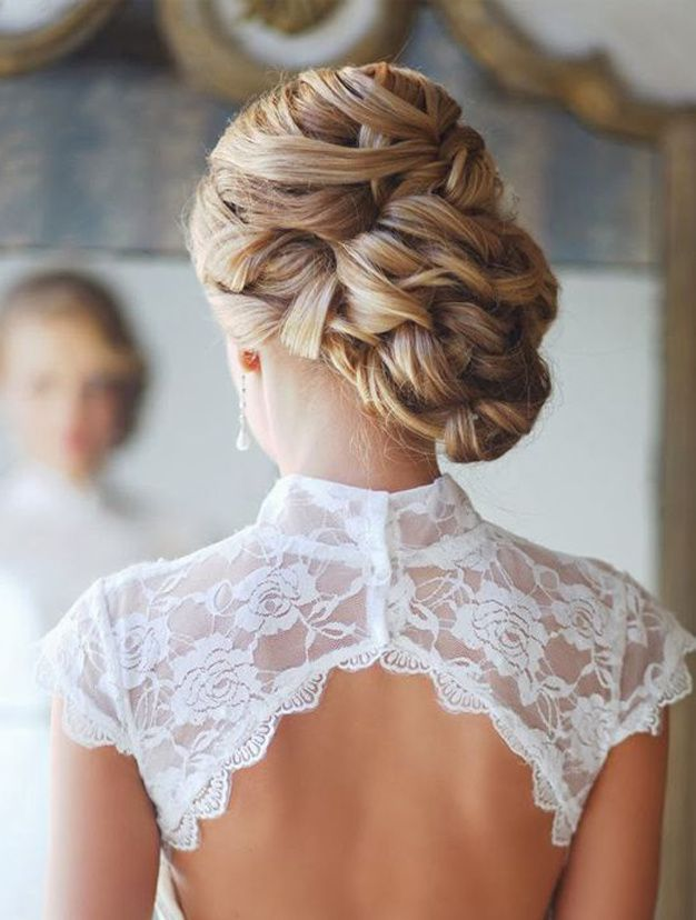 30 Idees Coiffure De Mariage Sur Pinterest Hair And Make Up Ideas