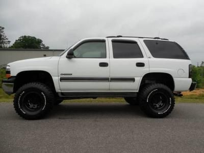 2001 Chevrolet Tahoe Ls 6 Inch Lift Dvd Player Chevy Tahoe