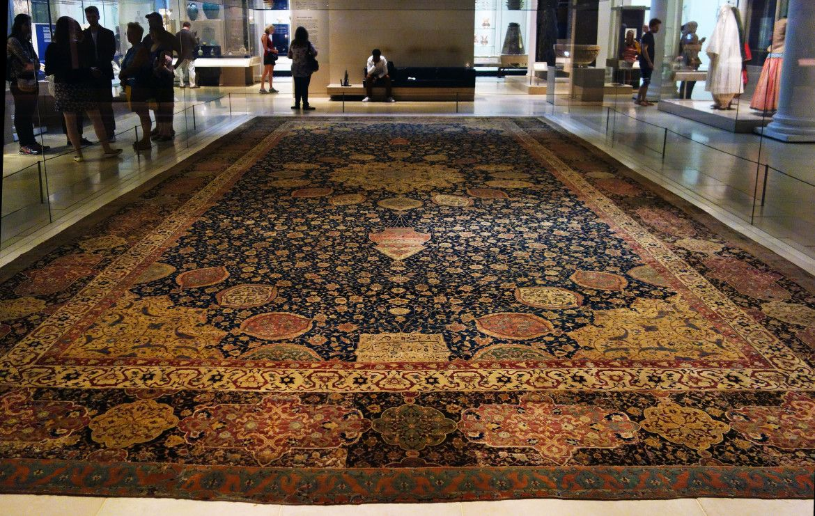 Medallion Carpet, The Ardabil Carpet, Unknown artist (Maqsud Kashani is named on the carpet's inscription), Persia… | Carpet, Handmade oriental rugs, Rugs on carpet